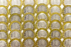 10 rublos Fotografia de Stock