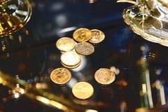 Rublos do ouro Imagem de Stock Royalty Free
