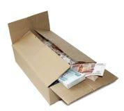 Rublos en rectángulo Foto de archivo libre de regalías