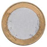 Rublos rusas de moneda Imágenes de archivo libres de regalías