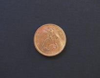 10 rublos rusas de moneda de los copecs Fotografía de archivo
