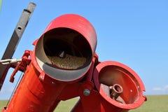 Śrubowy konwejer w rolnictwie Obrazy Stock