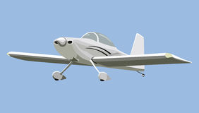 Śrubowy samolot Obraz Stock