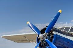 Śrubowy samolot Fotografia Royalty Free