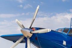 Śrubowy samolot Zdjęcie Stock