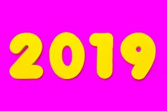 2019 Rubriek royalty-vrije stock foto's