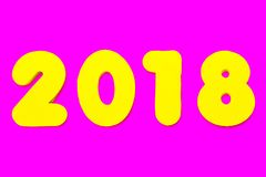 2018 Rubriek stock afbeeldingen