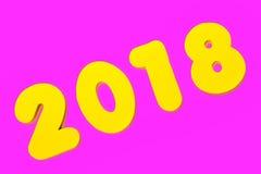 2018 Rubriek royalty-vrije stock foto's