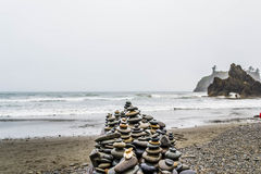 Ruby Beach Arkivfoto