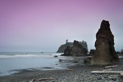 Ruby beach at sunset Royalty Free Stock Images