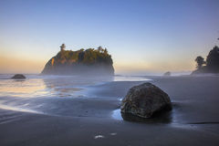 Ruby Beach Washington Foto de Stock Royalty Free