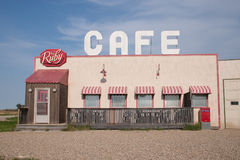 The Ruby Cafe from Corner Gas Royalty Free Stock Photo