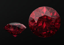 Ruby ,Citrine Stock Images
