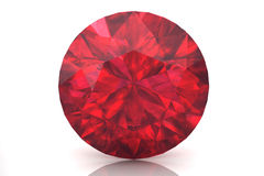 Ruby ,Citrine Royalty Free Stock Photography