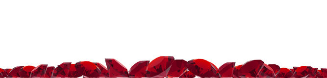Ruby gems Royalty Free Stock Photos