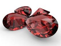 Ruby gemstones Royalty Free Stock Photography