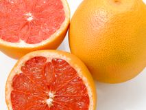 Ruby grapefruit Stock Photo