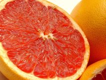 Ruby grapefruit Stock Images