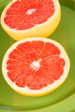 Ruby grapefruit close-up Royalty Free Stock Image