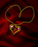 Ruby Heart 2 Royalty Free Stock Photos