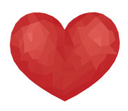 The Ruby heart Stock Photography