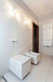 Ruby house - bathroom Stock Image