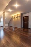 Ruby house - Empty attic Stock Photos