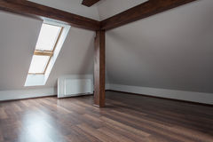 Ruby house - Empty loft Royalty Free Stock Photography