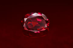 Ruby. This image is ruby for catalog of jewelry Stock Photo