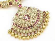 Ruby necklace Royalty Free Stock Photos