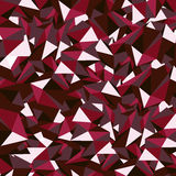 Ruby polygon Royalty Free Stock Photos