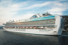 Ruby Princess Cruiser Stock Photos