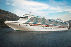 Ruby Princess Cruiser Stock Image