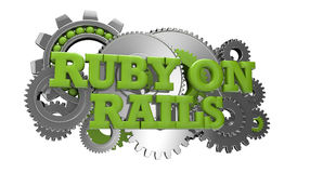 Ruby on rails Stock Photography