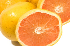 Ruby red grapefruit Royalty Free Stock Photos