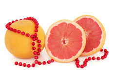 Ruby Red Grapefruit Royalty Free Stock Photography