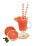 Ruby Red Grapefruit Juice Immagini Stock