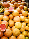 Ruby Red Grapefruit Stock Image
