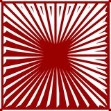 Ruby Red Striped Background Vector Illustration Stock