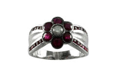 Ruby ring Royalty Free Stock Photo