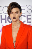 Ruby Rose. At the People`s Choice Awards 2017 held at the Microsoft Theater in Los Angeles, USA on January 18, 2017 royalty free stock images