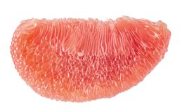 The Ruby of Siam pomelo fruit stock image