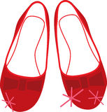 Ruby Slippers Royalty Free Stock Images