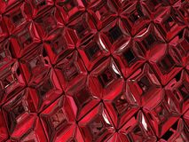 Ruby Surface. Ruby jewel surface luxury 3d illustration, horizontal, texture background Royalty Free Stock Photography