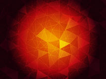 Ruby triangulated background. Vector abstract ruby triangulated background in eps 10 stock illustration