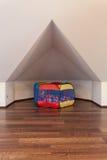 Rubyhus - Nook för barn arkivbild