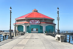 Rubys Diner HB Pier Royalty Free Stock Photography