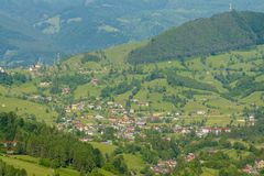 Rucar - Bran, Brasov, Romania Stock Photos