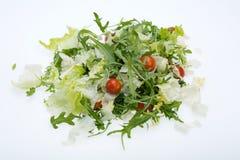 Ruccola, φύλλα μαρουλιού και ντομάτες κερασιών Στοκ φωτογραφίες με δικαίωμα ελεύθερης χρήσης