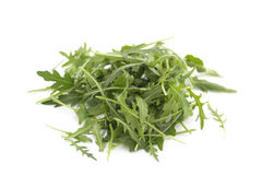 Ruccola isolated on white Stock Photo
